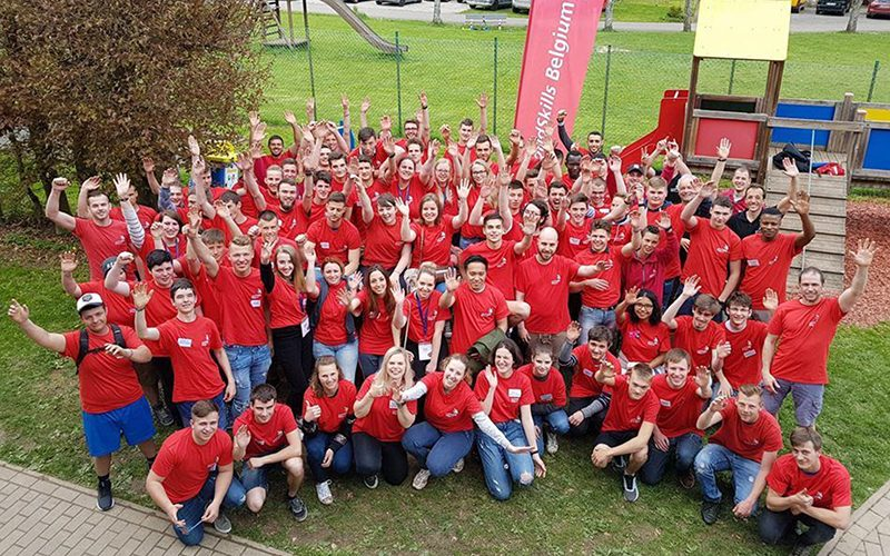 EuroSkills Budapest 2018 : 27 jeunes composent le «Belgian Team»