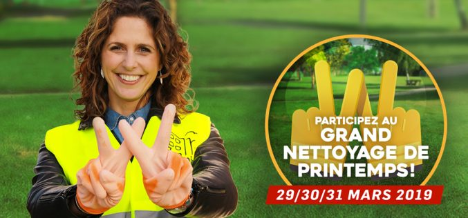 Grand Nettoyage de Printemps 2019