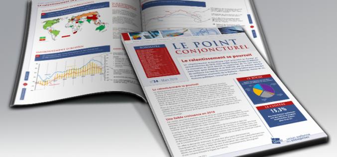 «Le ralentissement se poursuit», constate l'UWE dans son «Point Conjoncturel» de mars