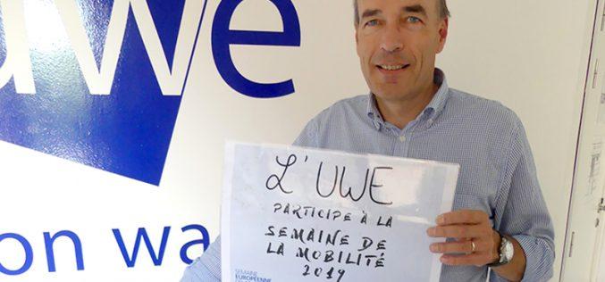 L'UWE s'engage déjà pour la Semaine de la Mobilité !