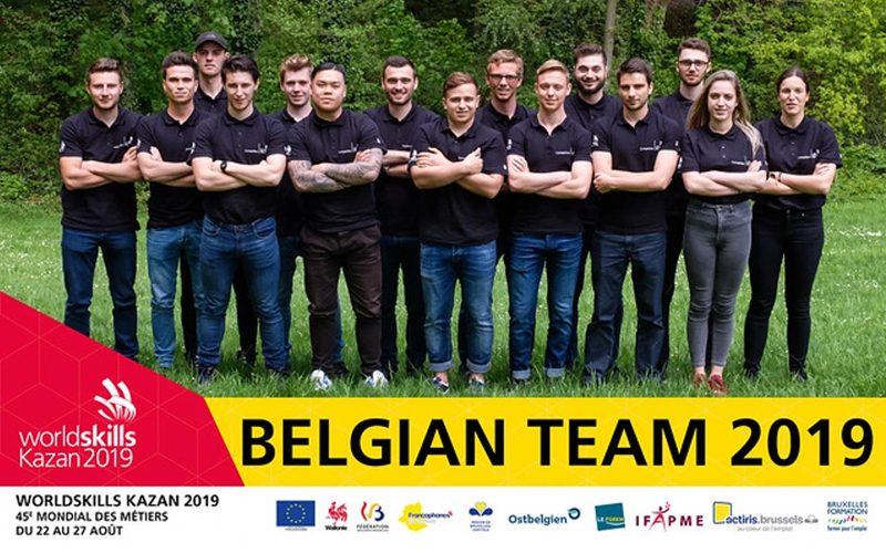 WorldSkills Kazan 2019 : Come on the Red Bears !
