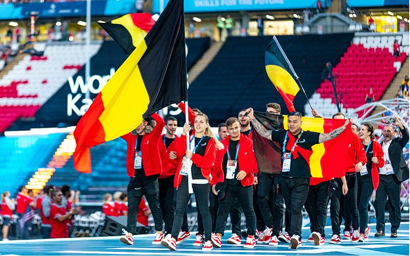 WorldSkills Kazan : 5 médailles d'excellence belges !