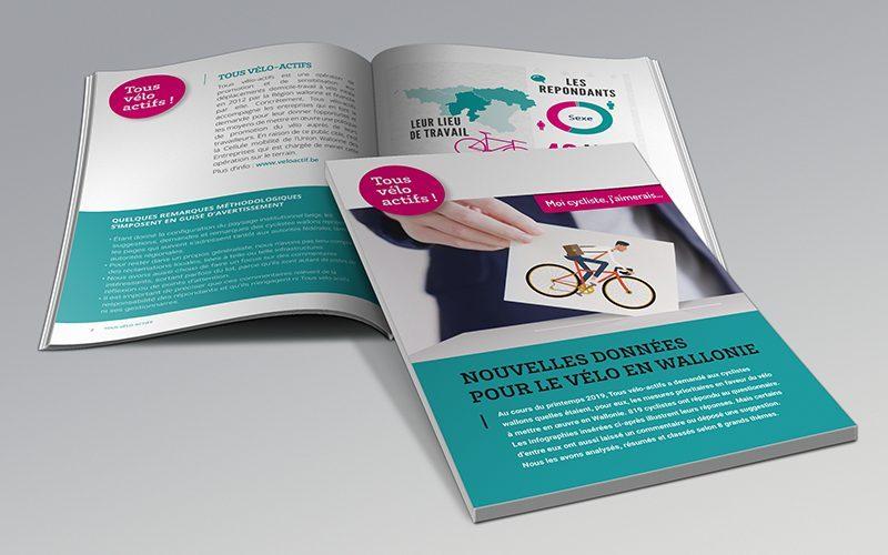 Nouvelles données pour le vélo en Wallonie