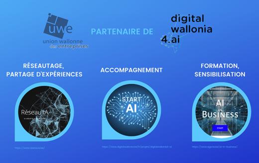 Coup d'accélérateur pour l'IA en Wallonie