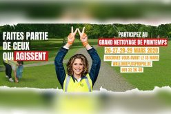 Participez au «Grand Nettoyage de Printemps» 2020 !