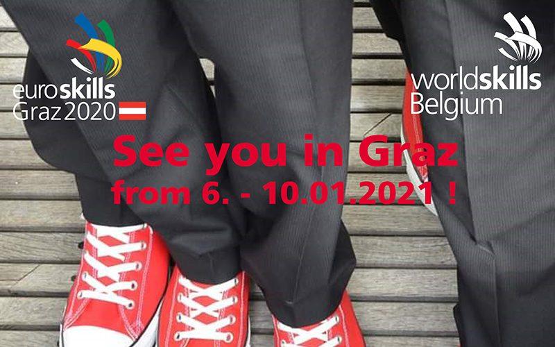 EuroSkills Graz : 21 «Red Bears» composent le Belgian Team