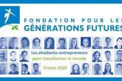 Etudiants-entrepreneurs pour transformer le monde : les primés 2020 !