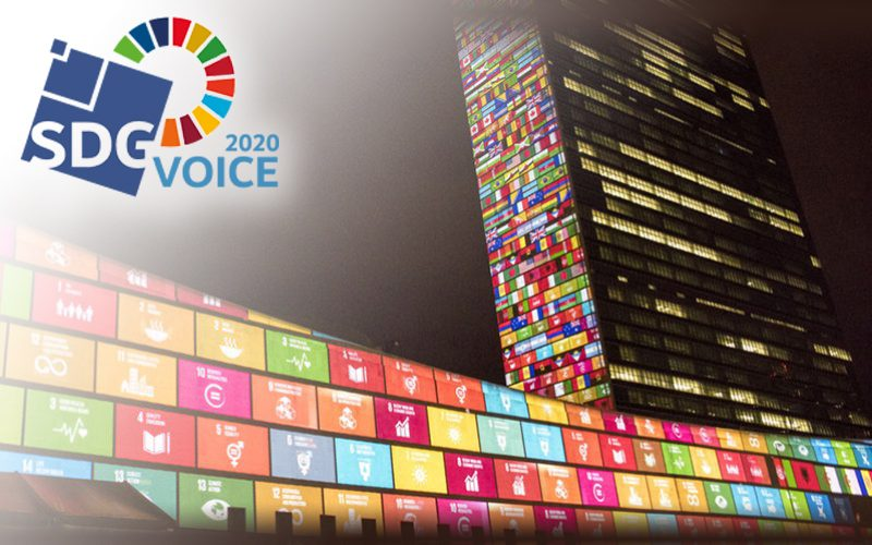 L'UWE fière d'être SDG Voice 2020 !