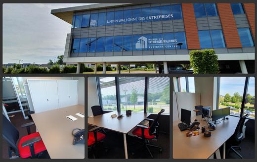 Maison des Entreprises Wallonnes : découvrez nos bureaux à louer au cœur du Brabant Wallon…