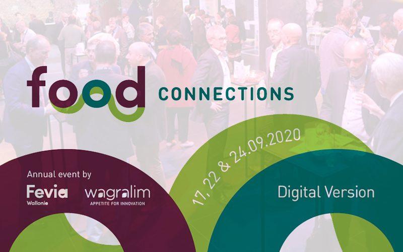 Food Connections – Événement annuel de Wagralim et Fevia Wallonie