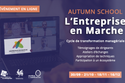 «Autumn School» d'Entreprise en Marche