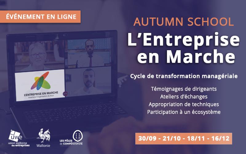 «Autumn School» d'Entreprise en Marche #4 – Mise en action de la transformation managériale
