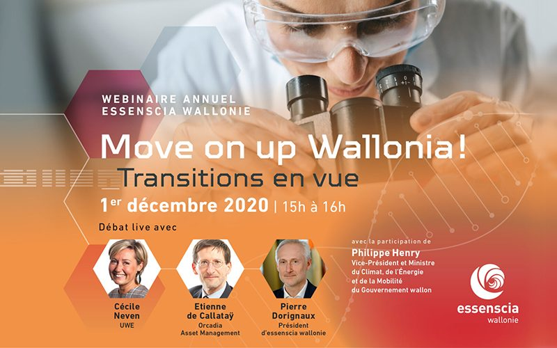 Move on up Wallonia ! Transitions en vue…