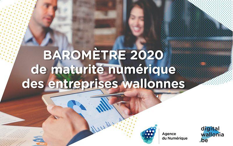 Baromètre 2020 de maturité numérique des entreprises wallonnes : qu'en retenir et comment agir ?