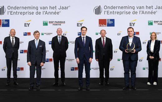 I-CARE (Mons) est «L'Entreprise de l'Année®» 2020 !