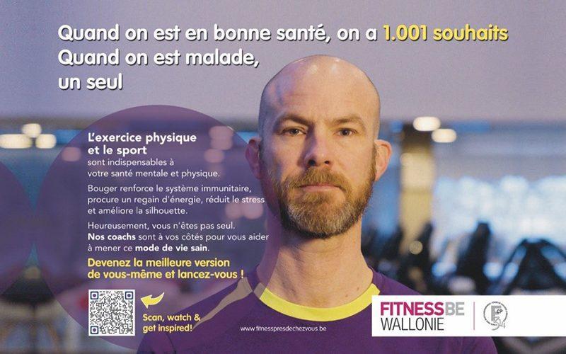 Fitness.be : tous ensemble en mouvement pour une Belgique en bonne santé