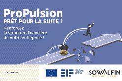 ProPulsion : un nouveau financement pour renforcer la structure financière des entreprises wallonnes