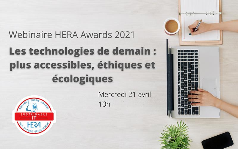 Les primés du HERA Award Sustainable IT mis à l'honneur !