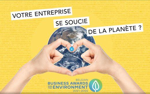 Belgian Business Awards for the Environment : plus que quelques jours pour participer !