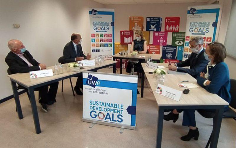 Table ronde en présence de Sa Majesté la Reine consacrée aux 17 Objectifs de Développement Durable (SDGs) pour les entreprises wallonnes