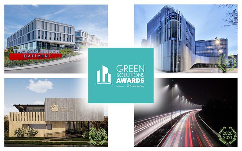 Green Solutions Awards 2020-21 : les lauréats belges !