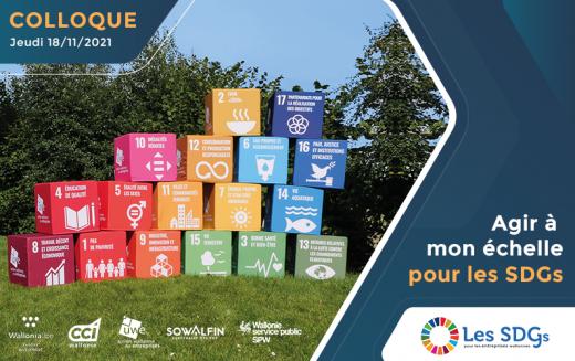 Participez au Colloque SDGs le 18 novembre !